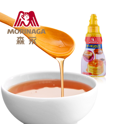 【糖漿200g】Morinaga/森永日本進口調味糖漿面包甜品烘焙原料松餅糖漿200g