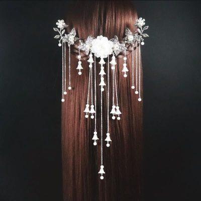 La MaxZa古装头饰复古发簪古风簪子古典饰品古代步摇流苏汉服发饰