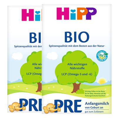 2罐裝|喜寶有機嬰幼兒配方奶粉 HiPP BIO PRE