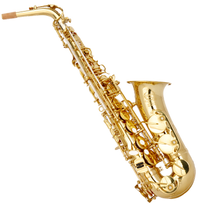 美德威MIDWAY 中音萨克斯乐器 AT-85G成人儿童降E调黄铜萨克斯风/管初学演奏