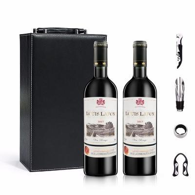 法国原装原瓶进口红酒 路易拉菲干红葡萄酒750ml礼盒装