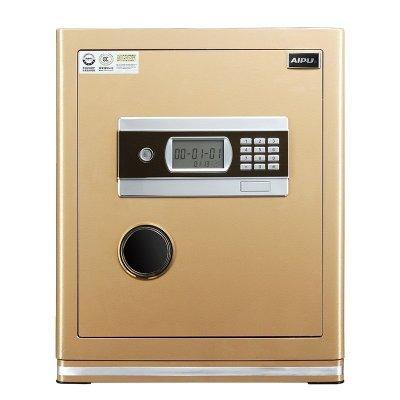 艾譜(AIPU)保險箱 3C認證辦公家用床頭小型型入墻電子保險箱/柜家用48cm高 FDX-A/D-45WG 土豪金