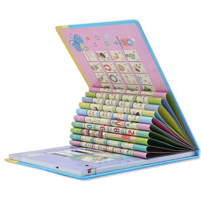 儿童益智有声中英文电子书点读书充电版早教书学习机讲读中英双语电子书宝宝婴幼儿送男孩女孩宝宝生日礼物玩具1-3-6岁