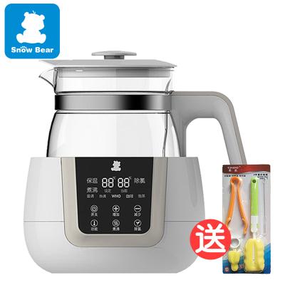 小白熊恒温调奶器暖奶器温奶器多功能冲泡奶粉机800ml恒温水壶0856