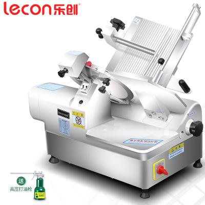 lecon/樂創珍軒 切片機全自動商用切肉機牛羊肉卷電動臺式不銹鋼 12寸半自動切肉片機