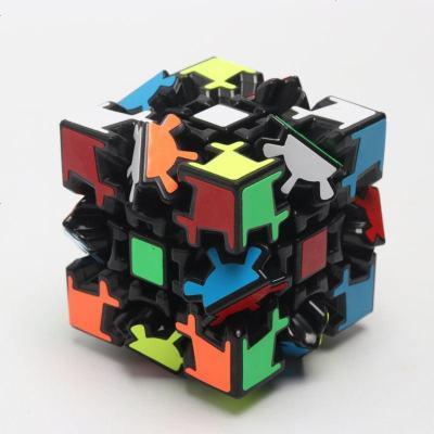 齒輪魔方三階 異形3階魔方 九齒連動專業比賽用靈活順滑益智玩具
