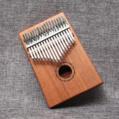 美德威MIDWAY 17音卡林巴拇指琴便携卡林巴琴 桃花芯木17键非洲手指琴Kalimba