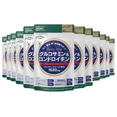 【一年特惠装】ISDG氨糖软骨素营养片非鲨鱼酸软骨素 WH240粒*12袋