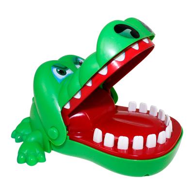 港比熊玩具鳄鱼玩具咬手指大号亲子玩具儿童早教整蛊创意咬手鳄鱼发泄解压玩具