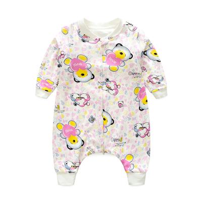 BiganA類無銀光有機棉嬰兒睡袋分腿春秋兒童夏寶寶夏季睡袋