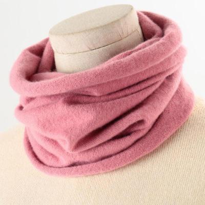 秋冬季羊绒围脖男女通用脖套毛衣假领子针织百搭围巾护颈椎保暖