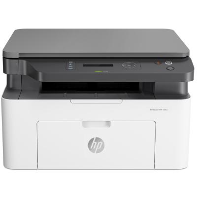 HP Laser MFP 136w 銳系列新品激光多功能一體機 打印復印掃描 三合一 家用小型辦公 M1136升級款無線版