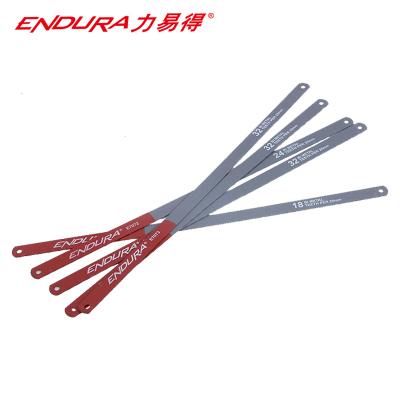 力易得(EN高速鋼DURA)雙金屬鋸條 高速鋼手用鋼鋸條 32齒 貨號E7073(10條)