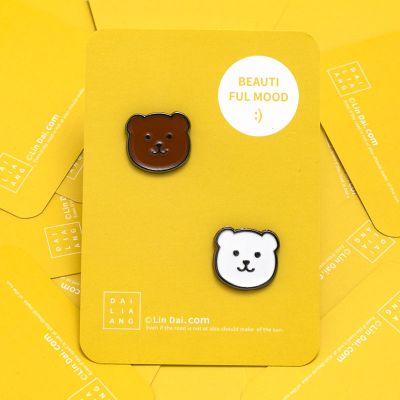 抖音同款卡通動物小熊胸針ins潮個性可愛日系別針女學生情侶徽章