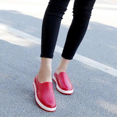 新款夏季雨鞋女時尚高幫防水鞋學生休閑淺口透氣防滑廚房工作膠鞋 臻澀