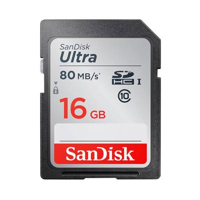 閃迪(Sandisk)16GB SD卡 讀80MB/s CLASS 10相機內存卡存儲卡 單反 微單閃存卡