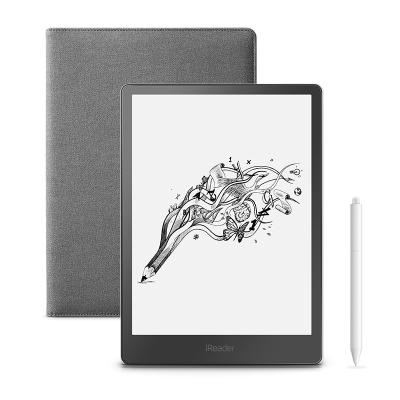 【套装】掌阅iReader Smart 超级智能本 10.3英寸 32G 电纸书阅读器 电子书 黑色+折叠?;ぬ?灰色
