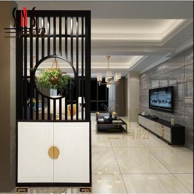 玄關柜隔斷鞋柜客廳簡約現代屏風鏤空花裝飾廳柜