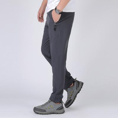 木林森(MULINSEN)戶外速干褲男夏季薄款沖鋒褲彈力透氣快干褲防潑水情侶褲