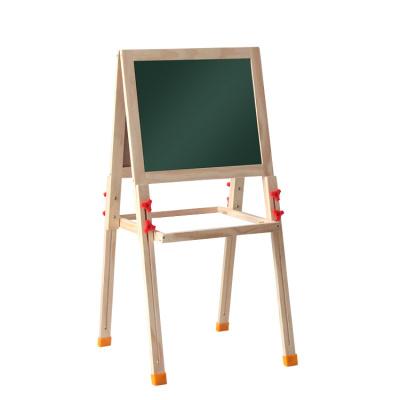 儿童画板画架可升降磁性小黑板1-12岁双面支架式