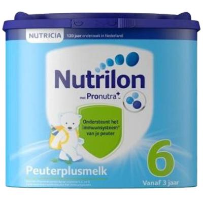 荷蘭牛欄Nutrilon諾優能嬰幼兒奶粉6段400g 適合3歲以上新舊包裝 2021年7月左右
