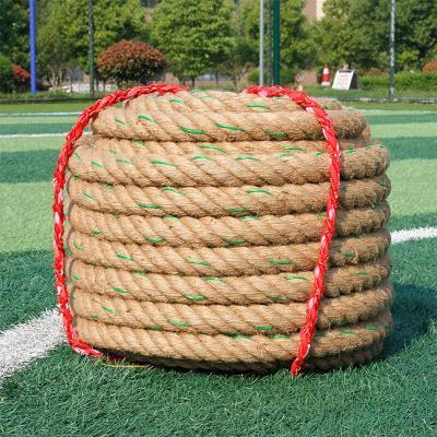 因樂思(YINLESI)撥河繩 拔河比賽專用繩成人兒童拔河繩子粗麻繩幼兒園親子活動趣味拔河繩
