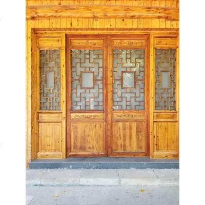 东阳木雕 仿古窗中式实木花格隔断实木雕花花格厂家直销