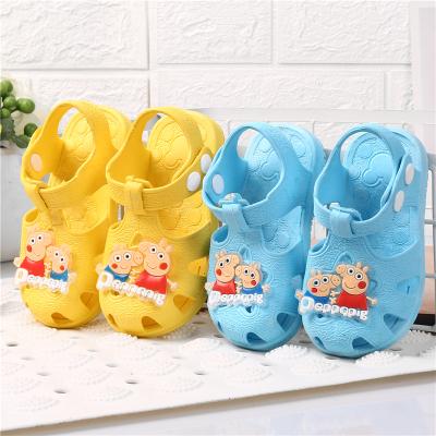 新品寶寶涼鞋0-1-2-3歲夏季男女兒童包頭防滑嬰幼兒軟底塑料涼鞋