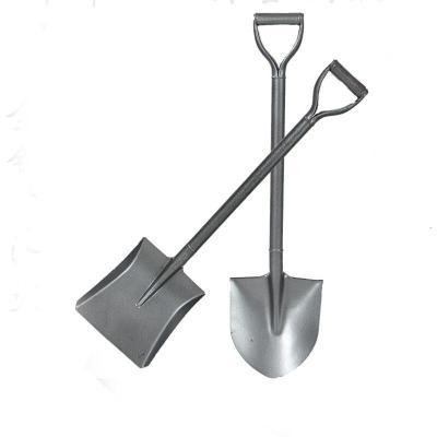 铁锹农用加厚园艺工具铁铲农具锰钢一体锹 尖头锹 平头锹