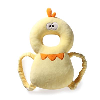 【棒棒豬】護頭枕(BBZ-MR0043)黃小雞 1個裝 柔軟pp棉 防摔枕頭部保護罩 寶寶學步帽防撞護頭帽