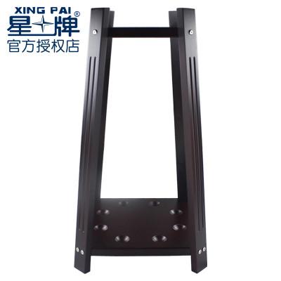 星牌臺球桿架子黑八桌架木制臺球桿架球房桿架8孔立式落地球桿架