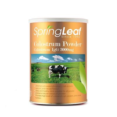 【澳洲直邮】 绿芙Spring Leaf 牛初乳粉400G (粉剂)