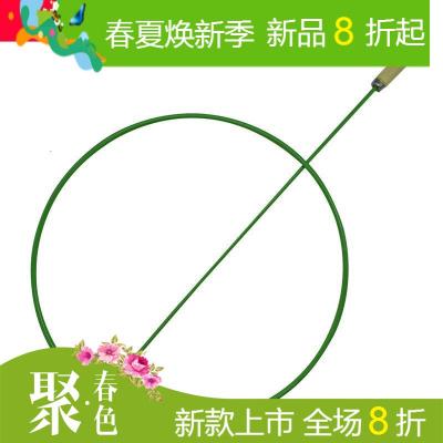 铁环滚铁圈实心彩色儿童健身玩具幼儿园运动滚铁环怀旧玩具推铁环
