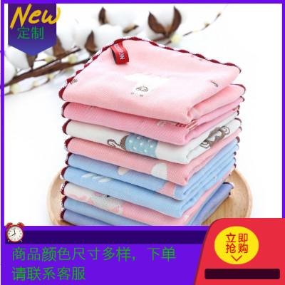 方巾六層紗布嬰兒口巾巾兒臉巾帕(甜撩客服,查詢更多顏色及規格)