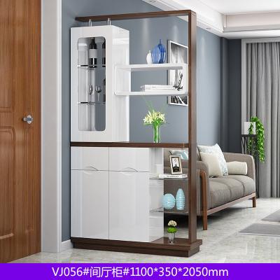 新柜爾(xin gui er furniture)入戶客廳玄關柜間廳柜雙面烤漆現代簡約小戶型隔斷門廳柜酒柜收納