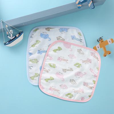 龍之涵(LONGZHIHAN)嬰兒口水巾純棉紗布洗臉巾寶寶兒童小方巾洗澡小毛巾手帕