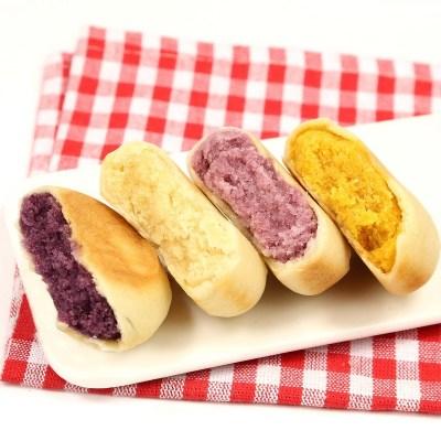 軟無添蔗糖板栗紫薯南瓜餅孕婦老年月餅糕點特產490g糖尿人零食
