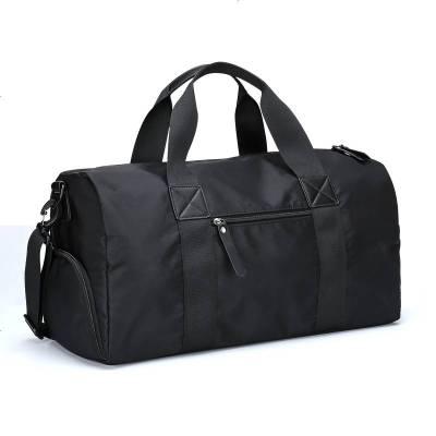 笛子 經典簡約款運動鼓包旅行包大容量干濕分離健身包男女通用旅行包訓練包行李包手提包女包潮防水單肩背包 6202