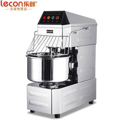 乐创(lecon) 和面机商用 40升双动双速和面机全自动 厨师机打蛋器面点机商用和面机鲜奶机搅拌机