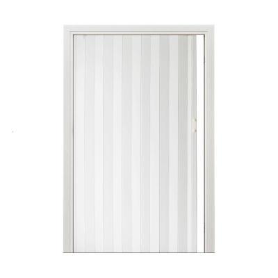 纳丽雅(Naliya)pvc折叠商铺室内厨房阳台客厅浴室卫生间空调隔断推拉衣柜移 高档加厚12.2毫米白高3米内