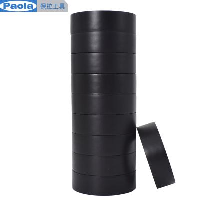 【蘇寧自營】保拉(Paola) 10米*10卷PVC電氣絕緣膠帶 黑色電工膠布 無鉛阻燃防水膠布耐高溫耐磨5811