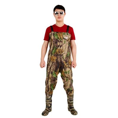 下水褲半身超輕水庫皮衩連體耐磨捉魚水衣垂釣捕魚防水抓魚衣服