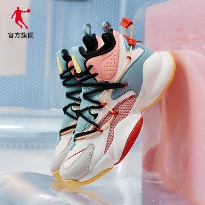 喬丹官方旗艦女鞋星途籃球鞋2020夏季新款高幫減震球鞋ins休閑鞋運動潮鞋