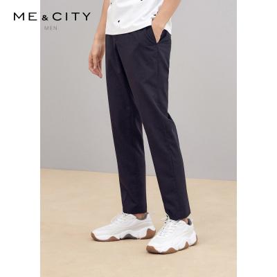 【1件3折价:115.8】MECITY男装羊毛商务绅士西裤正装裤子男士流西装裤男