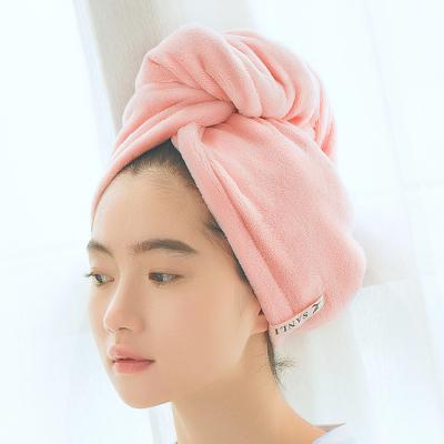 三利超柔強吸水干發帽 便攜式擦頭發包頭速干毛巾