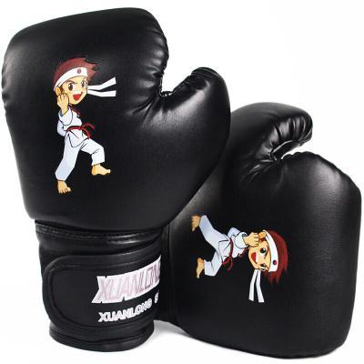 3-13兒童拳擊手套跆拳道幼兒園男女小孩套裝搏擊沙袋沙包打拳套