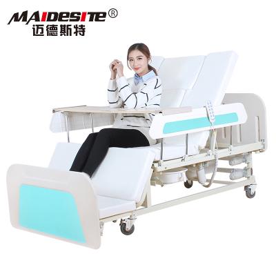 邁德斯特(MAIDESITE)護理床 禮玉款MD-E36 電動護理床 癱瘓病人醫用床電動醫療床老人醫院病床(電動多功能)