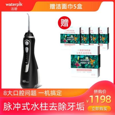 潔碧(Waterpik)沖牙器 WP-562EC 磁吸充電 便捷 超靜音 潔牙器/水牙線