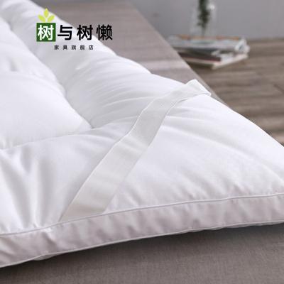樹與樹懶 新品薄床墊子羽絨羽毛床墊軟墊鵝絨褥子加厚墊被床褥1.5米1.8m鋪床墊子薄款1.2