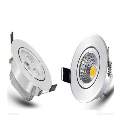 led射灯3w牛眼灯5w7w天花灯7.5可调洞灯cob筒灯嵌入式背景墙孔灯